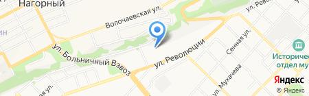 Диванчик на карте Бийска