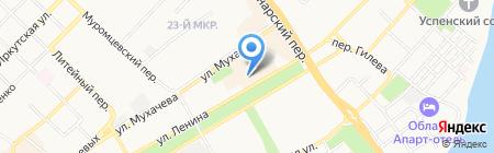 Магазин часов на карте Бийска