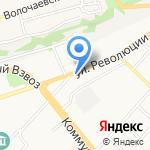 Сеть магазинов строительных и отделочных материалов на карте Бийска