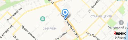Акцент-Авто на карте Бийска