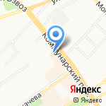 Алтайская краевая федерация КУДО на карте Бийска