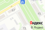 Схема проезда до компании Деловая Контора в Бийске