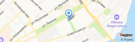 Контраст на карте Бийска