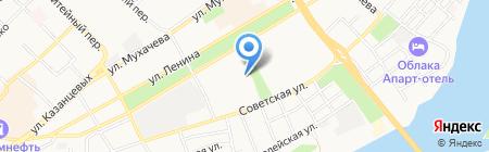 Лавр на карте Бийска