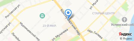 КомпьютерГрад на карте Бийска