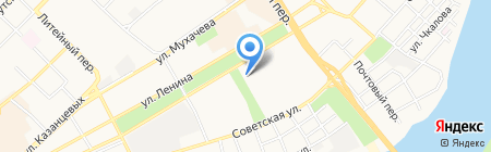 Мясная лавка на карте Бийска