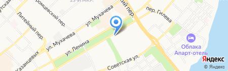 Разливная на карте Бийска