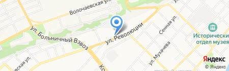 МиЛера на карте Бийска
