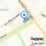Почта Банк на карте Бийска