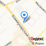АВТО-ЛЮКС на карте Бийска