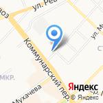 Москвич 2141 на карте Бийска