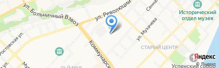 Центр финансовых услуг на карте Бийска