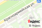 Схема проезда до компании Посуда Град в Бийске
