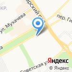 Центр профессиональной урологии на карте Бийска