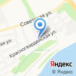 АКЦЕНТ+ на карте Бийска