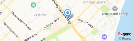 Патриот на карте Бийска