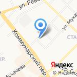 Кредит-Сервис на карте Бийска