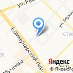 Аварийная автомобильная служба эвакуации на карте Бийска