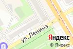 Схема проезда до компании Электроника в Бийске