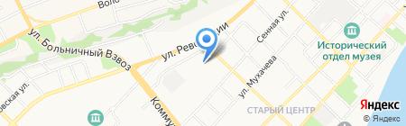 Пётр великий на карте Бийска