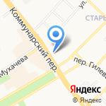 Российский кафель на карте Бийска