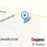 Первомайская основная общеобразовательная школа на карте Бийска