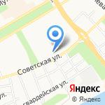 Отдел охоты и охотничьего хозяйства Администрации Алтайского края на карте Бийска