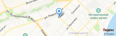 Полимер-Профиль на карте Бийска