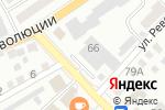 Схема проезда до компании Всероссийское добровольное пожарное общество в Бийске