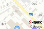 Схема проезда до компании Полимер-Профиль в Бийске