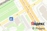 Схема проезда до компании Золотой телец в Бийске