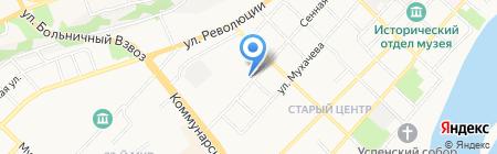 Магазин промышленных товаров на карте Бийска