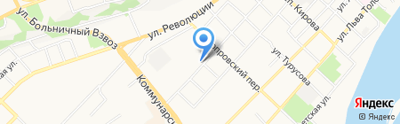 Магазин разливных напитков на карте Бийска
