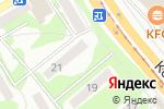 Схема проезда до компании Противопожарные двери в Бийске