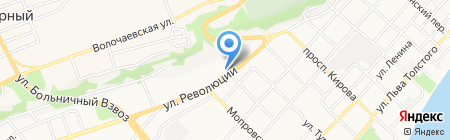 Старк на карте Бийска