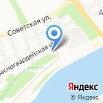 Инвест бетон на карте Бийска