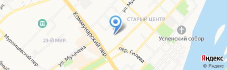 Детский сад №83 на карте Бийска