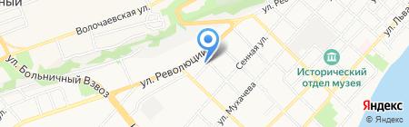 Алтайкрайэнерго на карте Бийска