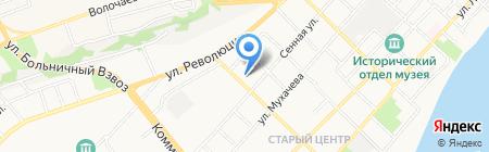 Автопрестиж на карте Бийска