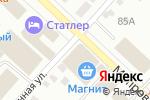 Схема проезда до компании Сеть магазинов строительных и отделочных материалов в Бийске