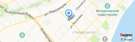 Стройматериалы на карте Бийска