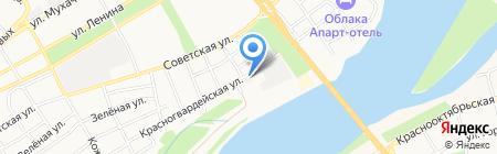 Автодело на карте Бийска