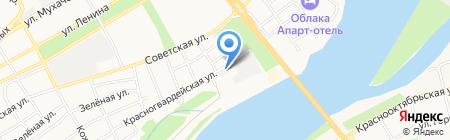 Вега-Бийск на карте Бийска