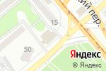 Схема проезда до компании Маяк в Бийске