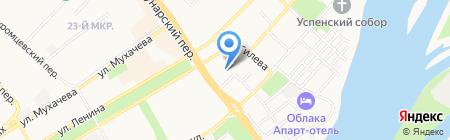 Эрудит на карте Бийска
