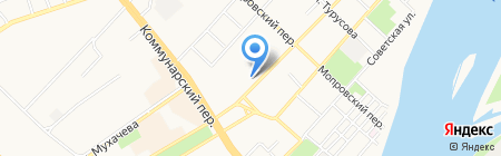 Адвокатский кабинет Поздняковой Е.Г. на карте Бийска