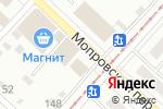 Схема проезда до компании Хлеб Алтая в Бийске
