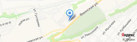 Оптово-розничная компания на карте Бийска