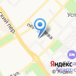 Бийская коллегия Сибирского третейского суда на карте Бийска