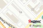 Схема проезда до компании Инь-Ян в Бийске